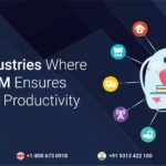 top 5 industries where zoho crm ensures enhanced productivity